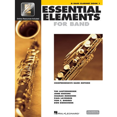 Essential Elements Bass Clarinet Book 1
