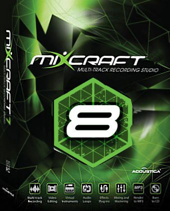 Mixcraft 8 - Music Production and Editing for Windows
