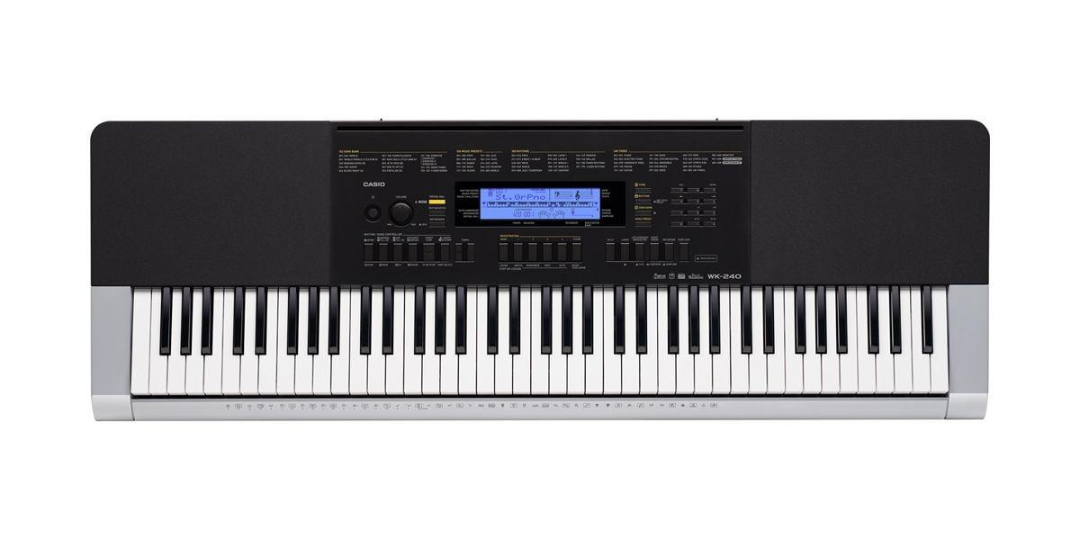 Casio WK240 76-Key Digital Keyboard