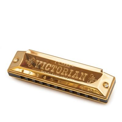 Clarkes Victorian Harmonica - Gold