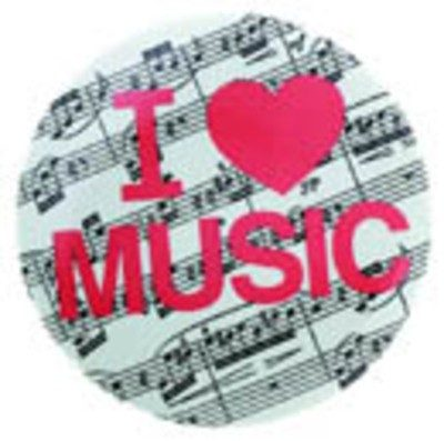 Metal Magnet I Love Music MM350