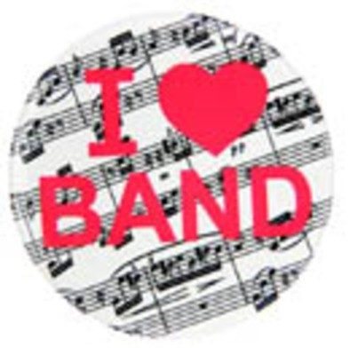 I love band metal magnet sheet music