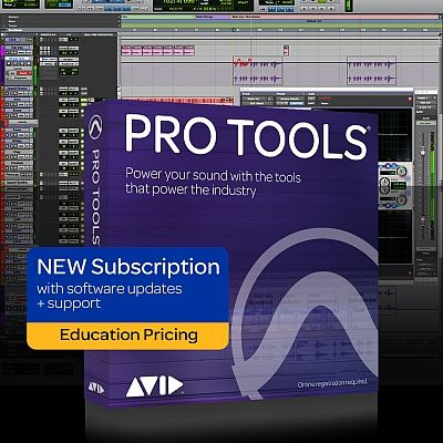 Pro Tools Education New Subscription