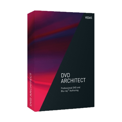 DVD architect Studio Software
