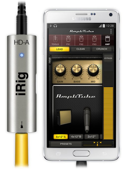 iRig HD-A Guitar Interface for Android or PC