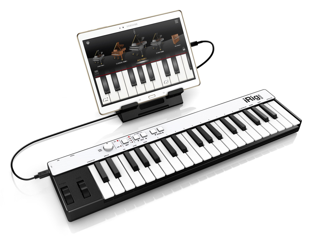 irig keys usb midi keyboard controller for mac pac iphone android. Black Bedroom Furniture Sets. Home Design Ideas