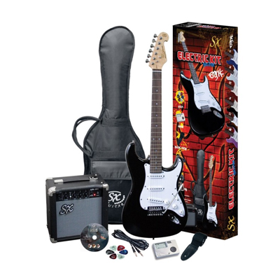Essex S-C Style Electric Guitar Pack - Full Size