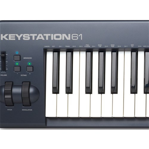 m audio keystation 61 mk ii 61 note usb controller binary music. Black Bedroom Furniture Sets. Home Design Ideas