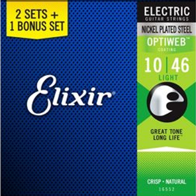 Elixir Electric Guitar - 3 for the price of 2 - Value Pack