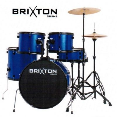 "Brixton UBX15 22"" Beginner Drum Kit"