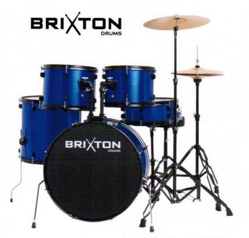 """Brixton UBX15 22"""" Beginner Drum Kit"""