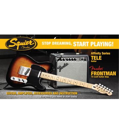 Fender Affinity Telecaster Pack Sunburst