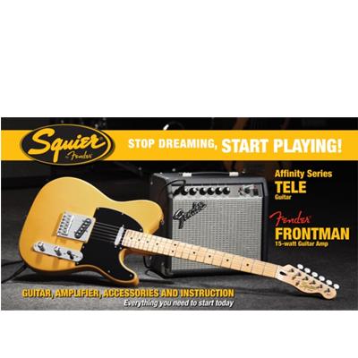 Fender Squier Tele Pack