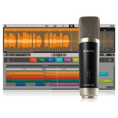 M-Audio Vocal Studio USB Mic with Ignite Software