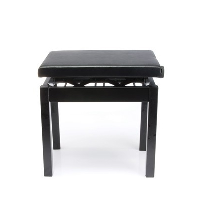 Casio Black Piano Stool - Steel Frame Adjustable Height
