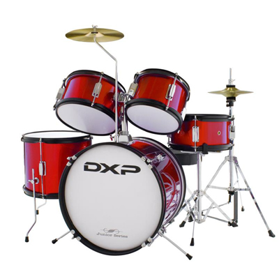 DXP Junior Drum Kit - Red