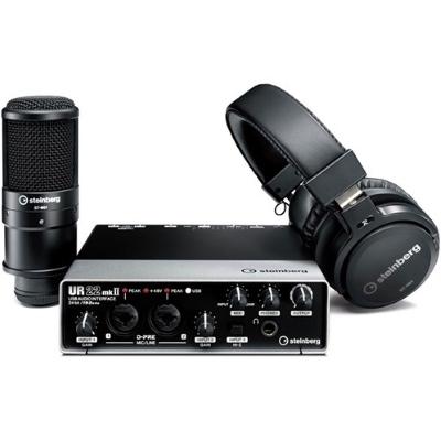 Steinberg UR22 Recording Bundle