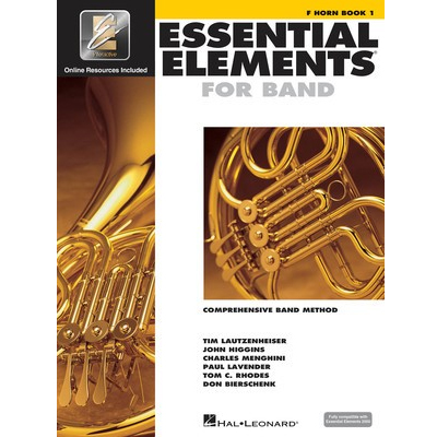 Essential Elements F Horn Book 1