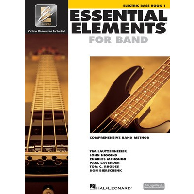 Essential Elements Electric Bass Book 1