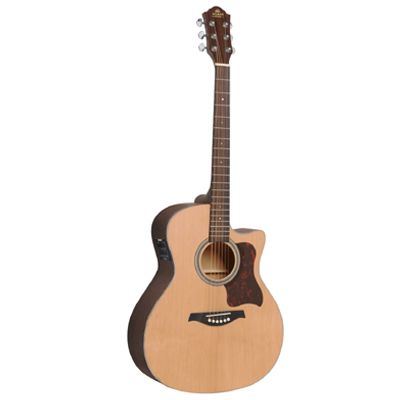 Gilman Electric Acoustic Auditorium Guitar