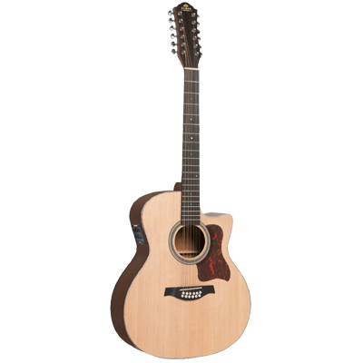 Gilman 12 string Electric Acoustic Auditorium Guitar