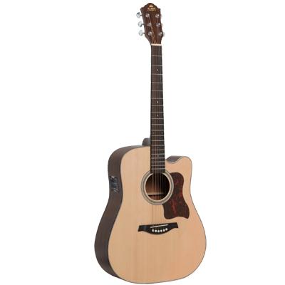 Gilman Electric Acoustic Dreadnought Guitar