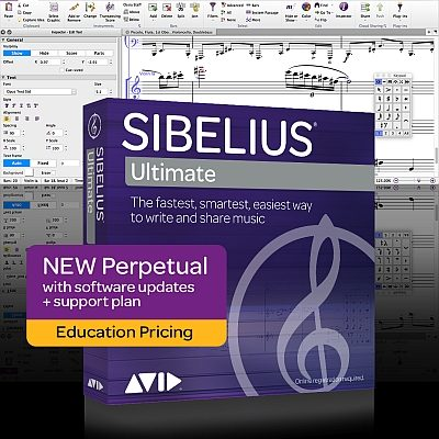 Sibelius Ultimate Education New Perpetual Licence