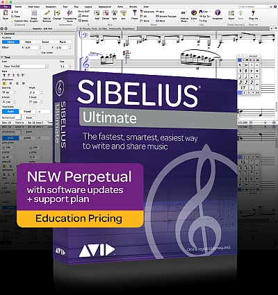 sibelius ultimate notation software with photoscore and audioscore. Black Bedroom Furniture Sets. Home Design Ideas