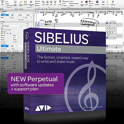 Sibelius Ultimate New Perpetual Licence with Update + Support Plan