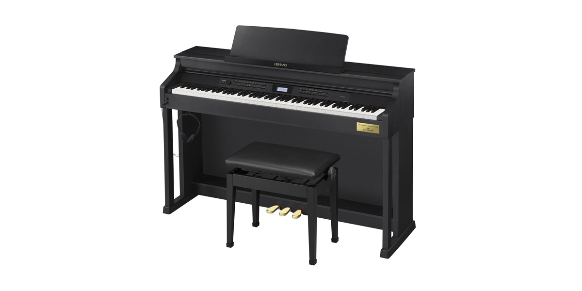casio ap 700 celviano digital grand piano with bench. Black Bedroom Furniture Sets. Home Design Ideas