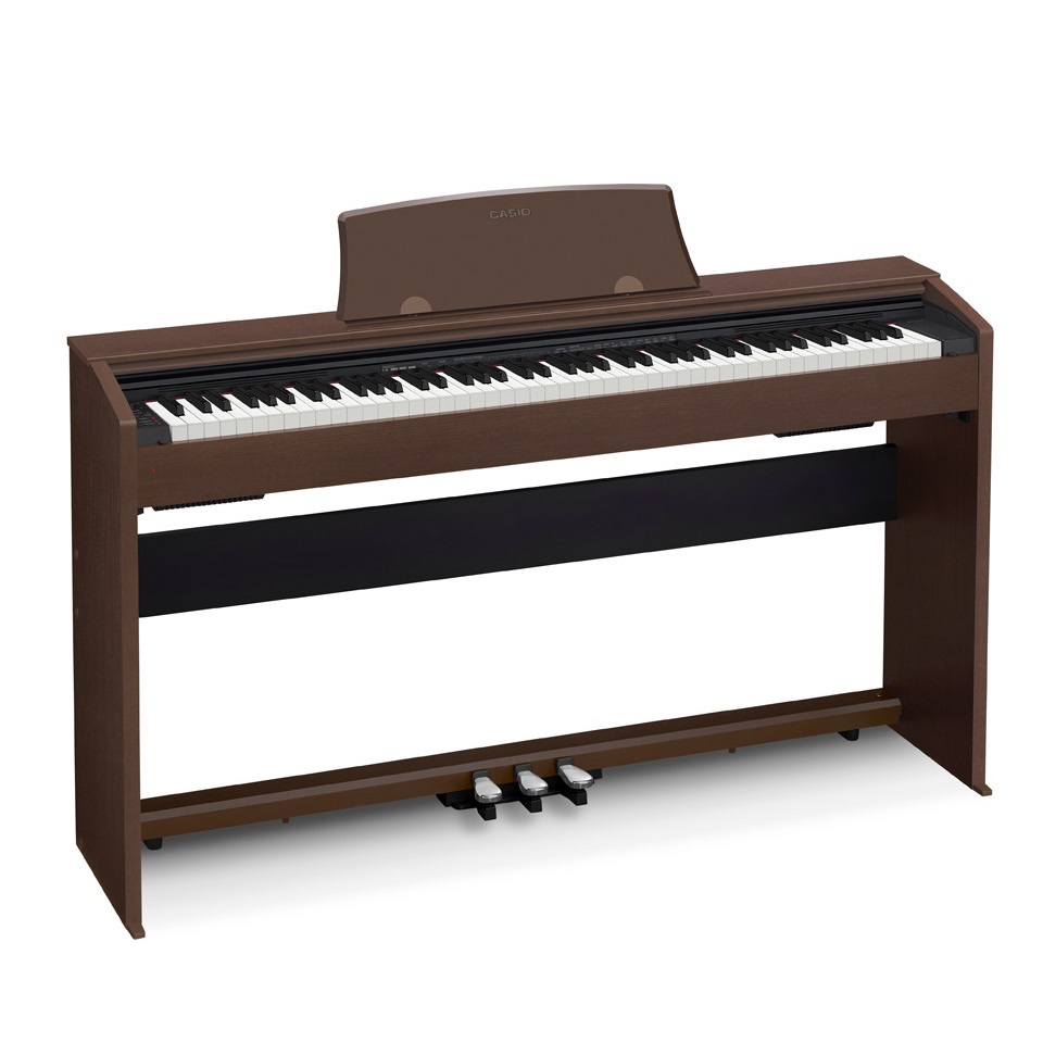 casio privia px 770 digital cabinet piano wooden stand and height adjustable bench. Black Bedroom Furniture Sets. Home Design Ideas