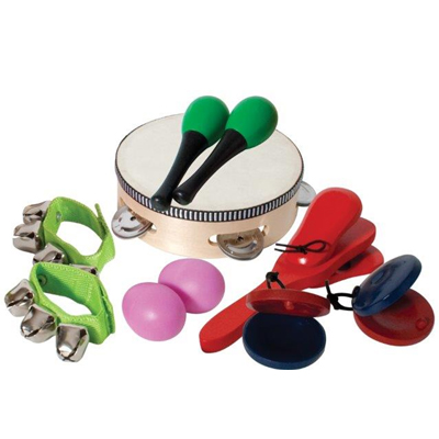Manao Percussion Six Piece Percussion Pack