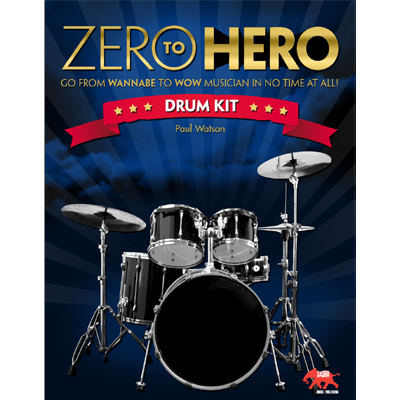 Zero to Hero Drum Kit Book