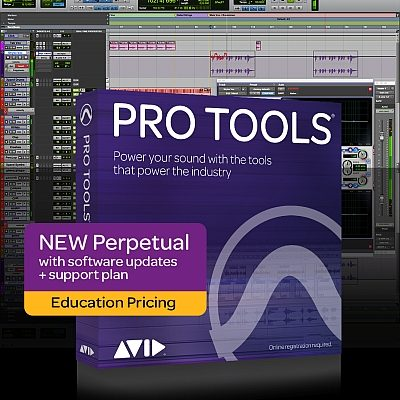 Pro Tools Perpetual licence Education pricing