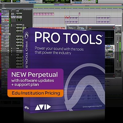 Pro Tools New Perpetual Licence Institutional