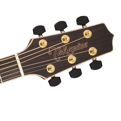 Takamine G90 Series Dreadnought Acoustic Guitar Headstock