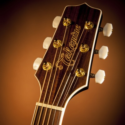 Takamine G70 Jumbo Electric Acoustic Guitar Headstock Detail