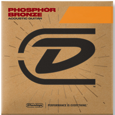 Dunlop Phosphor Bronze Acoustic Guitar Strings VARIOUS GAUGES