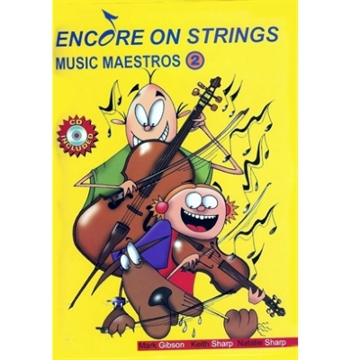 Encore on Strings Double Bass Book 2