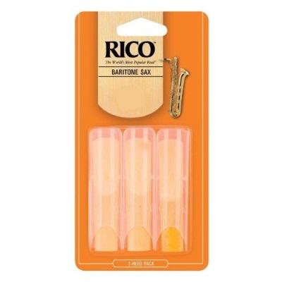 Rico Baritone Saxophone Reeds 3 Pack
