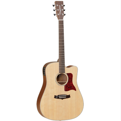 Tanglewood Sundance Performance Pro X15NSCE Front with Solid Spruce Top