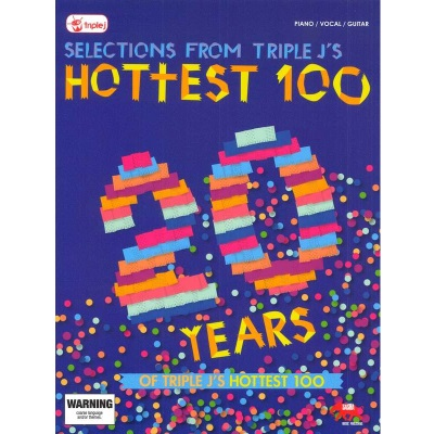 20 Years of the Hottest 100 Piano Vocal Guitar