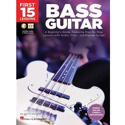 First 15 Lessons Bass Guitar