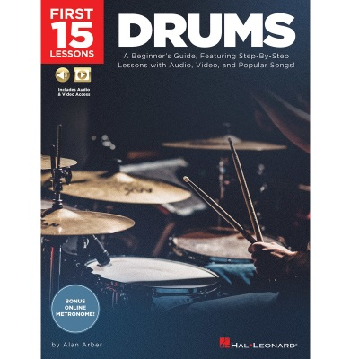 First 15 Lessons Drums