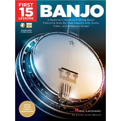First 15 Lessons Banjo