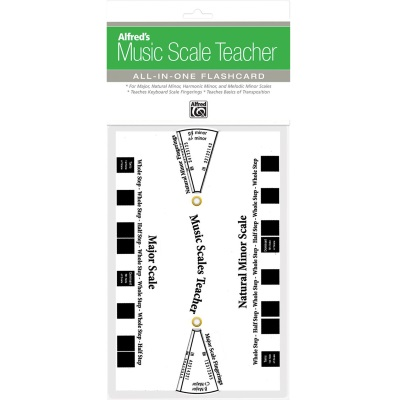 Music Scale Flashcard