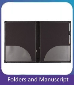 Folders and Manuscript