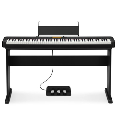 Casio CDP-S350 Kit - Piano top, stand and 3 pedal unit