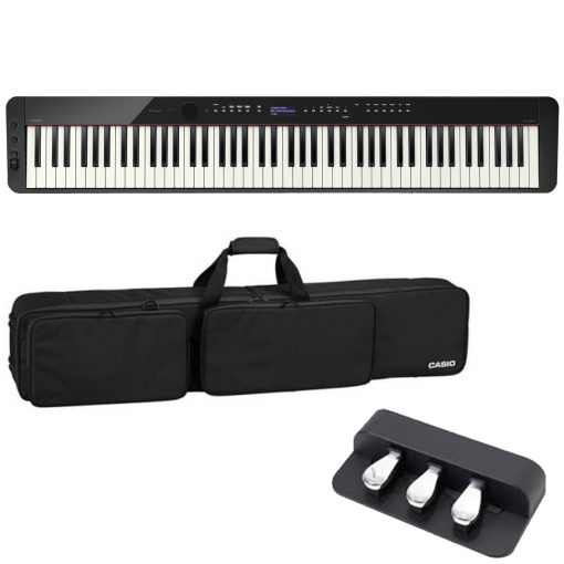 Casio PX-S3000 Pro Kit Digital Piano with SC800P Gig Bag and SP34 Pedal