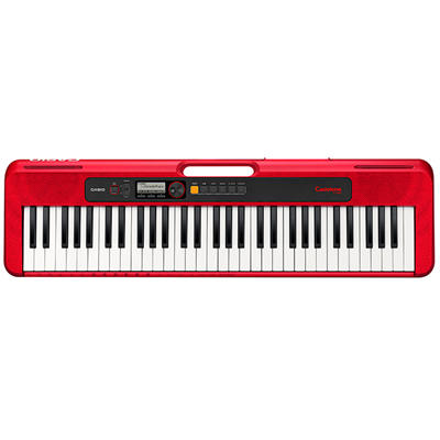 Casio CTS200 Keyboard Red